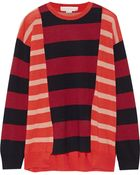 Stella McCartney Striped Wool Sweater - Lyst