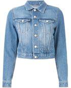 Acne Studios 'Tag' Denim Jacket - Lyst