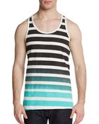 Cohesive & Co. Ombrã© Striped Tank - Lyst