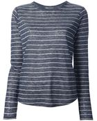 Vince Striped T-Shirt - Lyst