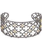 Alexis Bittar Elements Gun Lace Riveted Bracelet - Lyst