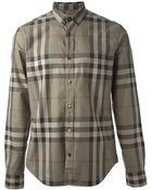 Burberry Brit 'Nova Check' Shirt - Lyst