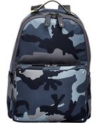Valentino Camo Backpack - Lyst