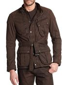 Ralph Lauren Black Label Four-Pocket Pilot Jacket - Lyst