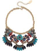 Adia Kibur Jewel Statement Necklace - Multi - Lyst