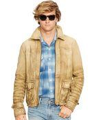 Polo Ralph Lauren Leather Hemmingway Jacket - Lyst