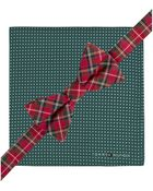 Tommy Hilfiger Royal Stewart Bow Tie & Pin Dot Pocket Square Set - Lyst