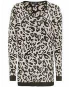 Armani Jeans Leopard Jumper - Lyst