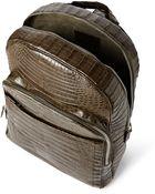Santiago Gonzalez Crocodile Backpack - Lyst
