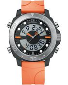 Hugo Boss Mens Orange Stainless Steel and Plastic Watch - Lyst
