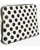 3.1 Phillip Lim Dotted Haircalf 31 Minute Clutch Black - Lyst