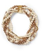 Kate Spade Twisted Statement Necklace - Lyst