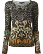 Etro Paisley Printed Knit Top - Lyst