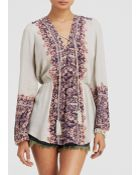 Free People Tunic - Wildest Moments Printed - Lyst