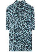 Marc Jacobs Silk Shirt - Lyst