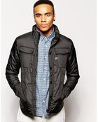 G-Star RAW G Star Quilted Overshirt Jacket Filch Ripstop - Lyst