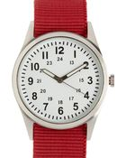 Forever 21 Canvas-Strap Analog Watch - Lyst
