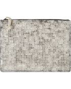 Giuseppe Zanotti Studded Metallic Leather Document Holder - Lyst