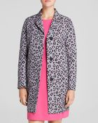 Kate Spade Cheetah Print Coat - Lyst