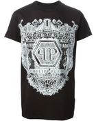 Philipp Plein 'Shield' T-Shirt - Lyst