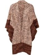 Missoni Wool-Cotton-Cashmere Knit Poncho - Lyst