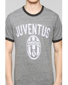 Junk Food Flocked Juventus Tee - Lyst