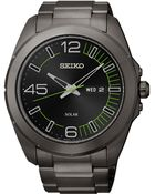 Seiko Mens Millennial Solar Black Ionfinished Stainless Steel Bracelet Watch 45mm Sne275 - Lyst
