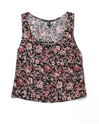 Forever 21 Botanical Moment Top - Lyst
