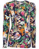 Matthew Williamson Rainbow Morris Long Sleeve T-Shirt - Lyst