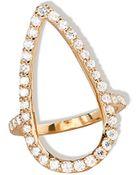 Lana Jewelry Fatale Diamond Crush Ring - Lyst