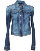 Just Cavalli Denim Outerwear - Lyst