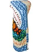 Vivienne Westwood Anglomania Mixed Print Dress - Lyst