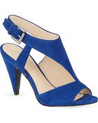 Nine West Shapeup Suede Heeled Sandals - Lyst