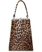 Simone Rocha Leopard Print Tall Handbag - Lyst