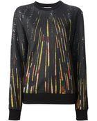 Givenchy Printed Sweatshirt - Lyst