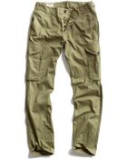 Todd Snyder Olive Infantry Cargo Pant - Lyst