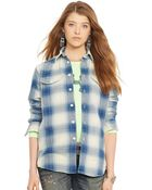 Polo Ralph Lauren Plaid Workshirt - Lyst