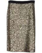 By Malene Birger Helic Sequin Pencil Skirt - Lyst