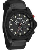 Nixon Rover Chrono Black And Red Watch - Lyst