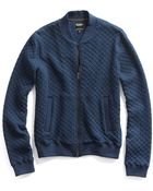 Todd Snyder Jacquard Quilted Baseball Jacket - Lyst