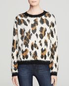 Mink Pink Sweater  Animal Print - Lyst
