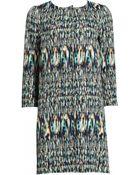 Matthew Williamson Morph Ikat Tailored Summer Coat - Lyst