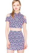 Pixie Market Wallflower Skirt Match Set - Lyst