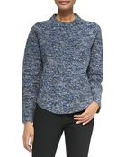 Proenza Schouler Speckled Wool-Blend Sweater - Lyst