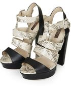 Topshop Lucy Gladiator Sandals - Lyst