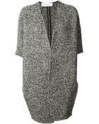 Gianluca Capannolo Oversized Short Sleeve Coat - Lyst
