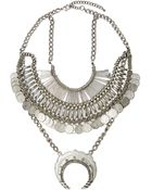 Nasty Gal Coined It Necklace - Lyst