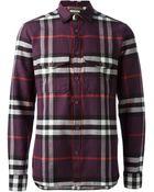 Burberry Brit Plaid Shirt - Lyst