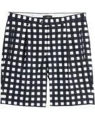 Joseph Printed Cotton Bermuda Shorts - Lyst
