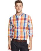Tommy Hilfiger Plaid Shirt - Lyst
